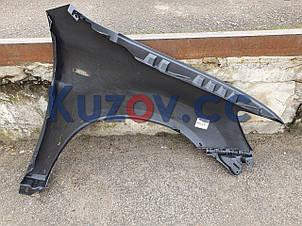 Крыло переднее правое Mitsubishi ASX '16- (с отв. под рант и повторитель) (FPS) пластик, фото 2
