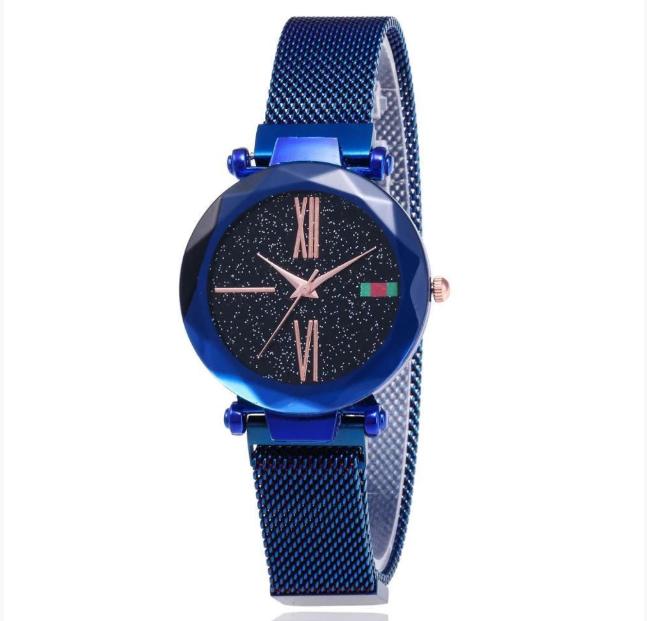 Наручные женские часы Starry Sky Watch Синие