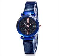 Наручные женские часы Starry Sky Watch Синие, фото 1