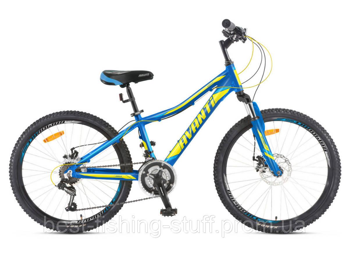 "Велосипед 24 Avanti Drive disk  12"" сине/зеленый"