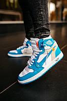 Чоловічі Кросівки в стилі Nike Air Jordan 1 Всі Розміри