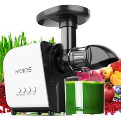 Профессиональная шнековая соковыжималка KOIOS SHA1060 кухонная электрическая для для овощей и фруктов