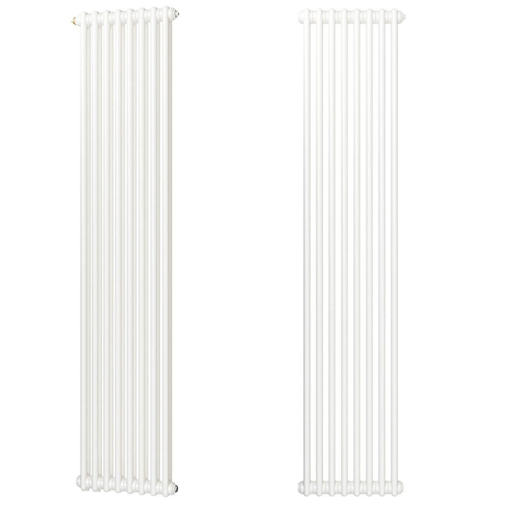 Zehnder Charleston Радиатор центрального отопления 368 x 1800 БЕЛЫЙ арт.3180-8-9016-3470-SMB