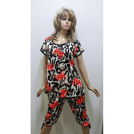 Костюм женский с бриджами, Размеры от 52 до 60, фото 2