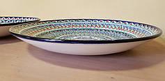 Узбекские ляганы (тарелки) из Риштанской керамики 42см, фото 2