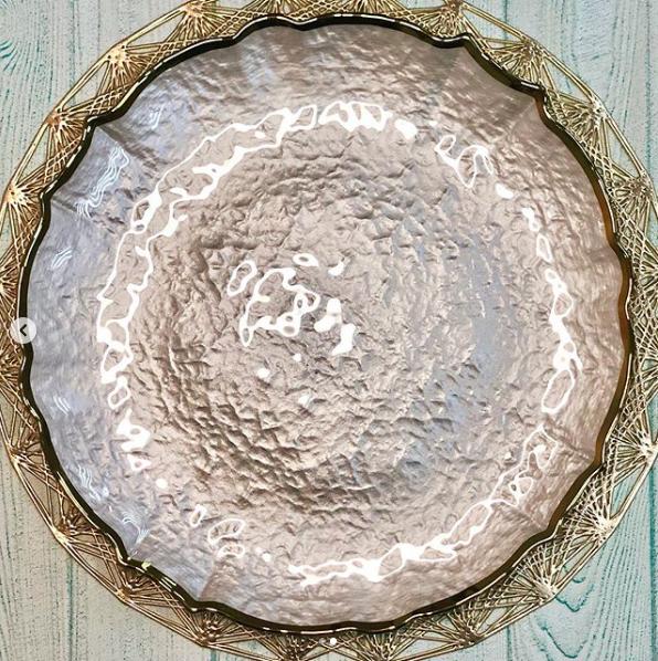 """Блюдо """"Белое золото"""", 32 см, 16112-17"""