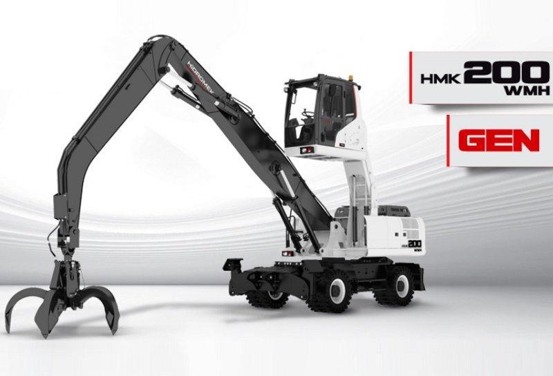 Экскаватор HIDROMEK 200 W, 200 W MH