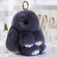 Кролики брелок с мехом 18 см! Хит продаж
