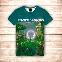 Футболка 3D Imagine Dragons Origins, фото 1