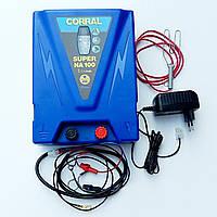 Стійкий электризатор для електрозагорожі Corral Super NA 100 (Німеччина)