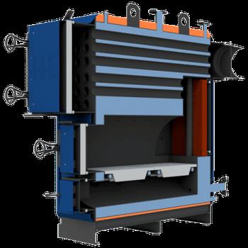 Котел твердотопливный НЕУС-Т жаротрубный 150 кВт (дрова, уголь)