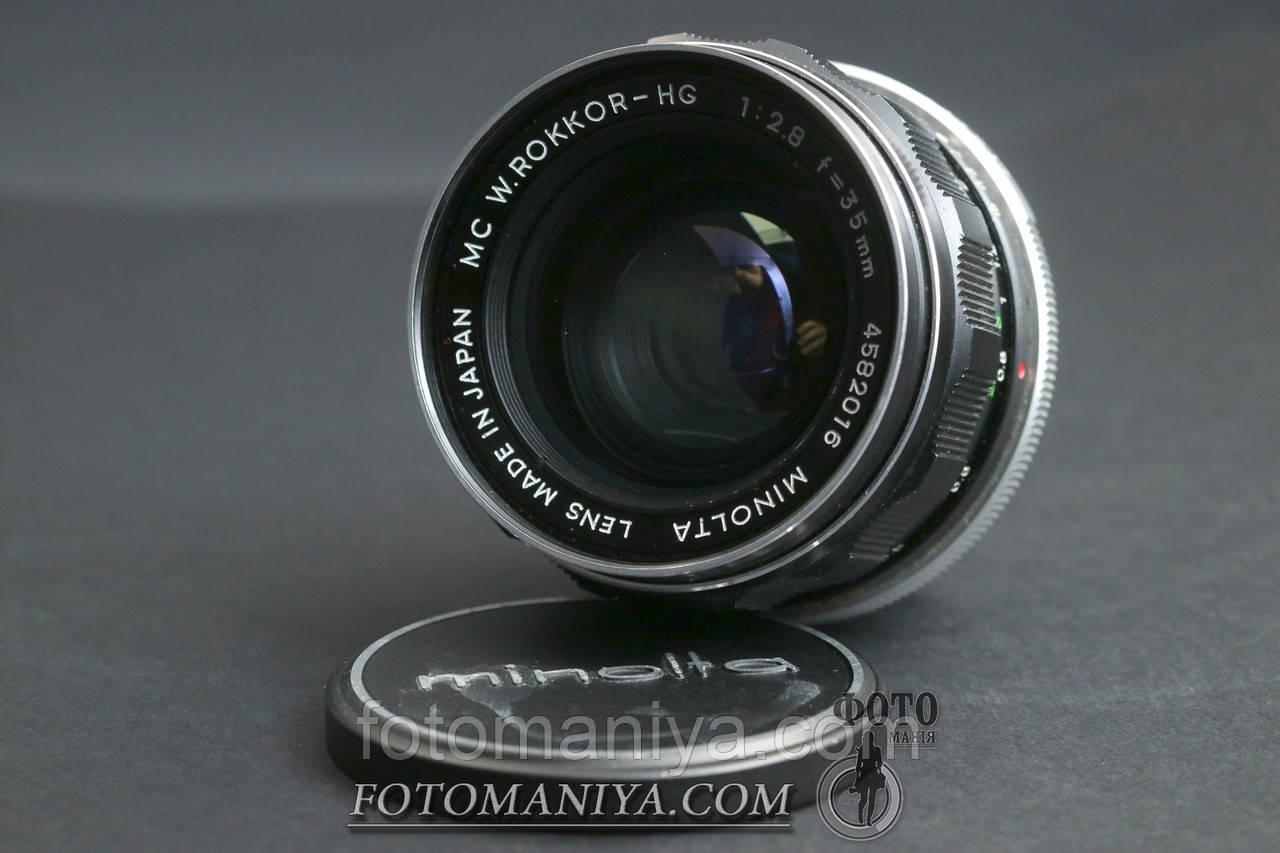 Minolta  MC W.Rokkor-HG 35mm f2.8