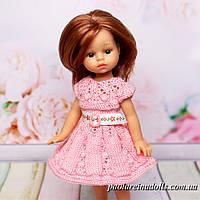 """Платье """"Розовый бутон"""" для кукол мини Подружки 21 см Паола Рейна"""