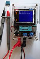 Тестер GM328A измеритель ESR-метр RLC генератор вольтметр частотомер Русская прошивка 1.13k, 1,37m +ЩУПЫ