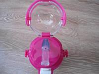 Термос для напитков и чая с трубочкой zk g 604 500ml. Pink! Хит продаж