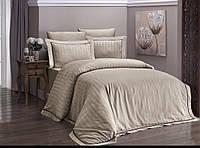 Комплект постельного белья Deluxe Satin Novel Line S.Kahve First Choice Полуторный размер