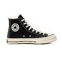 Кеды высокие женские Converse All Star Chuck 70 Black High р.36 стелька 22.5 см (con_181)