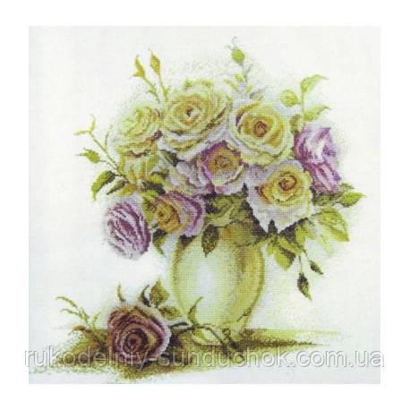 Набор для вышивания крестом ТМ Марья Искусница 04.005.06 Розы