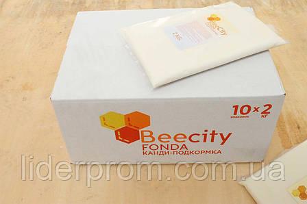 Beecity- канди для подкормки пчел.  готовая подкормка 2 кг.Beecity Fonda ТурцияBeecity, фото 2