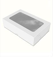 """Картонная коробка для суши """"Макси"""", белая"""