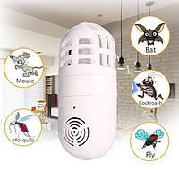 Ультразвуковая лампа от насекомых и грызунов Atomic Zabber! Хит продаж