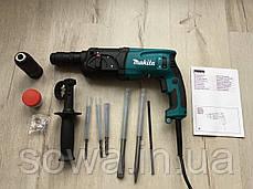 ✔️ Перфоратор Макита/Makita HR2470Т  + додат. патрон + подарок, фото 2