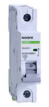 Автоматичний вимикач однополюсний Noark Ex9BS 1P C20 для захисту електричних ланцюгів змінного струму