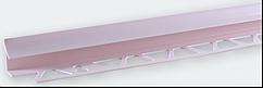 Угол внутренний под плитку (9-10 мм) розовый LRB04