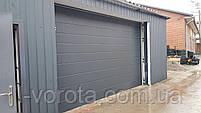 Подъемные гаражные ворота DoorHan 3000×3000 (цвет сатингрей), фото 2