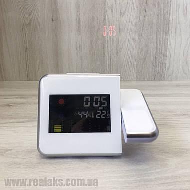 Часы метеостанция DS-8190 (White), фото 3