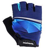 Велоперчатки Meteor Gel GX170 (original) з гелевою вставкою чоловічі жіночі спортивні