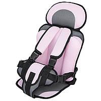 Детское бескаркасное автокресло Child Car Seat. Безопасное портативное сиденье! Хит продаж