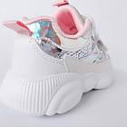 Кроссовки с пайетками на модной подошве девочкам, р. 28,  34, фото 9