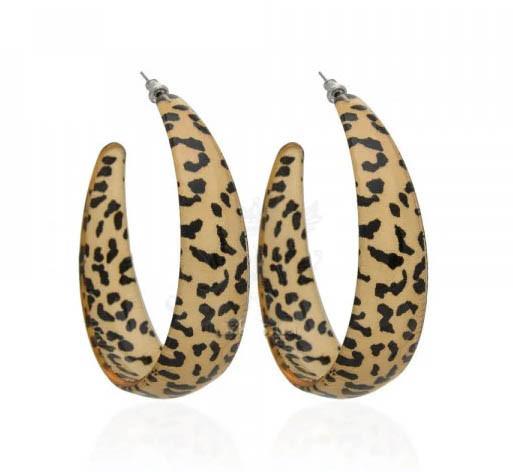 Сережки кільця 6cm. Сережки кільця пластикові. Сережки леопард. Сережки кільця леопард.