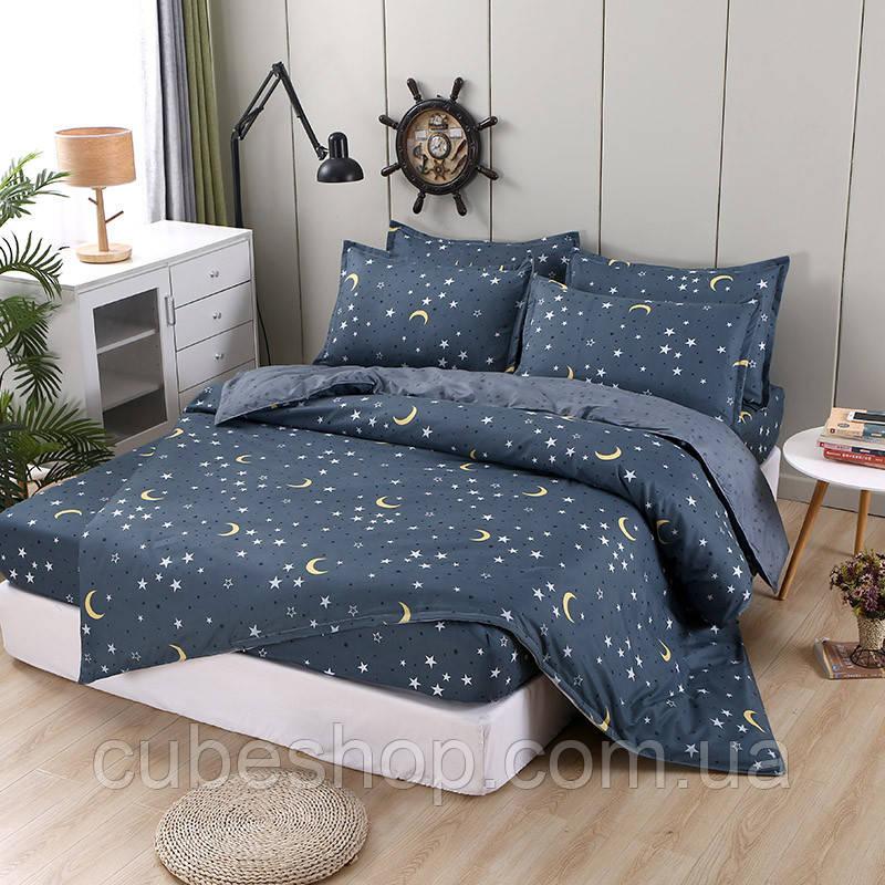 Комплект постельного белья Moon (двуспальный-евро)