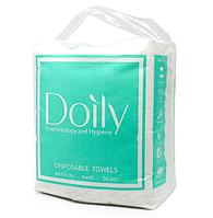 Полотенца в пачке Doily COMPACT 40х70 см (50 шт/пач) из спанлейса 40 г/м2