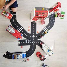Гибкая автомобильная трасса Waytoplay Автострада 16 дорожных частей длина 258 см (024), фото 3