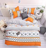 """Комплект постельного белья """"Орнамент"""" (двуспальный-евро), фото 1"""