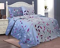 Двуспальный комплект постельного белья. БЯЗЬ 100% ХЛОПОК Обычная простыня