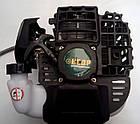 Бензокоса Кедр БГ-6200 Profi 3 ножа + 2 шпулі з волосінню. Мотокоса Кедр, фото 4