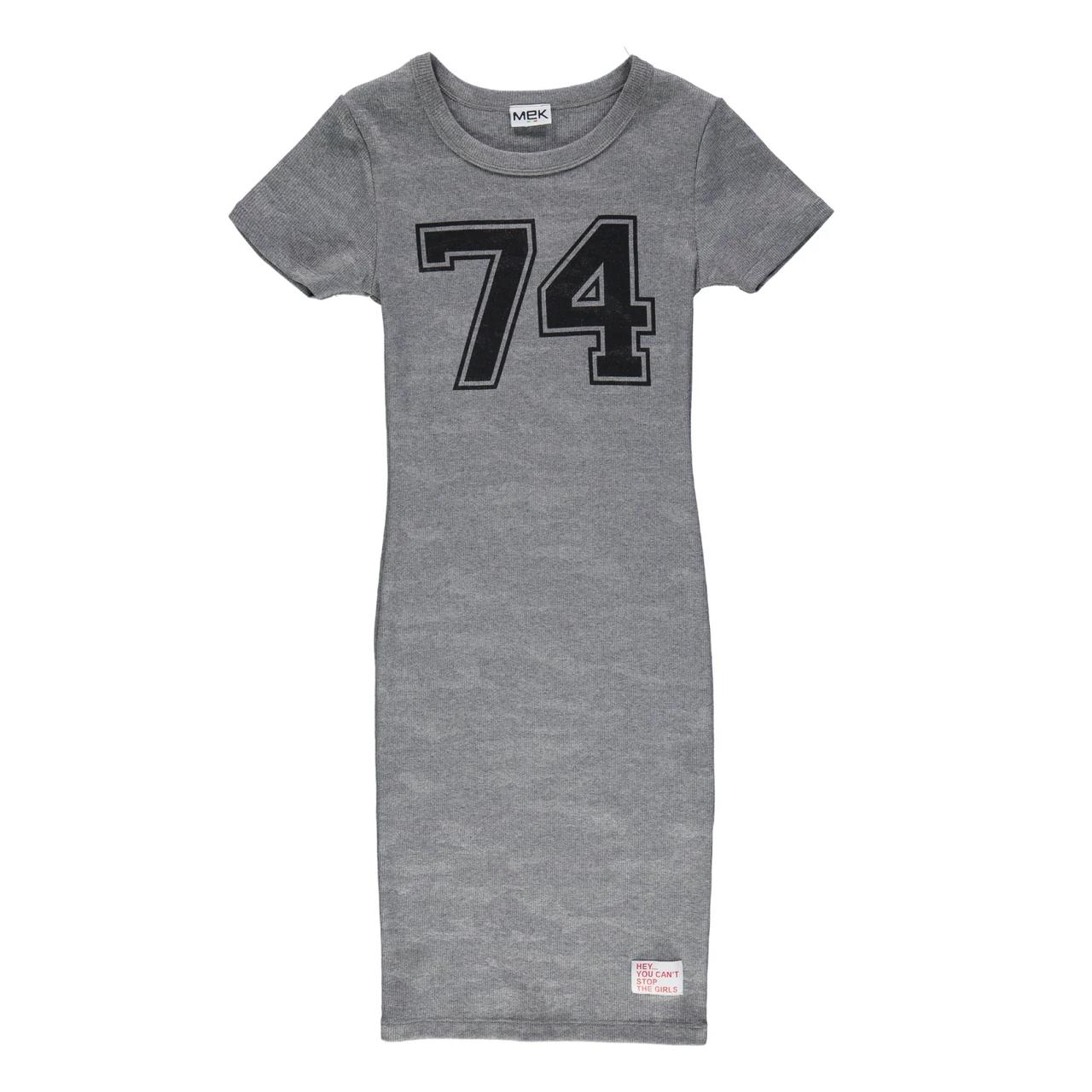 Платье для девочки Mek  201MIIM002-663 серый 128-170