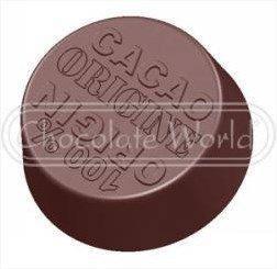"Поликорбонатовая форма для шоколада ""Какао"" d30 мм, Chocolate World Бельгия"