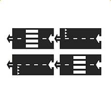 Набор дополнительных элементов Waytoplay Прямые участки 4 дорожные части (062), фото 2