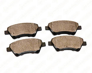 Дискові гальмівні колодки (передні) на Renault Kangoo 2001->2008 4x4 — Meyle - 0252393018