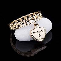 Эксклюзивное кольцо из желтого золота