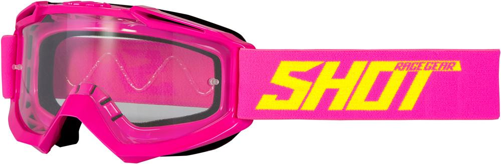 Очки кроссовые SHOT ASSAULT pink