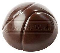 "Поликорбонатовая форма для шоколада ""Баскетбол"" d26х14 мм, Chocolate World Бельгия"