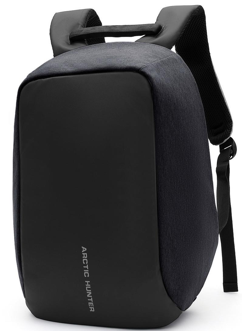"""Молодёжный городской рюкзак с конструкцией """"антивор"""" и USB портом Arctic Hunter 1590, 20л"""