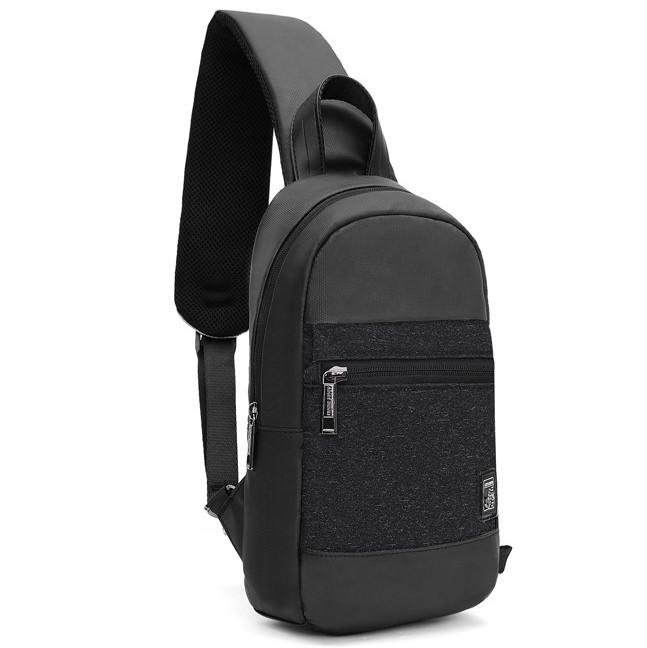 Стильный однолямочный рюкзак для бизнеса и путешествий Arctic Hunter XB00060, влагозащищённый, 5л