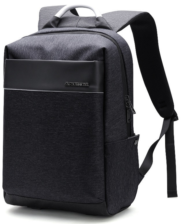 """Стильный деловой рюкзак для ноутбука до 15,6"""" и планшета до 9,7"""" Arctic Hunter B00218, влагозащищённый, 23л"""